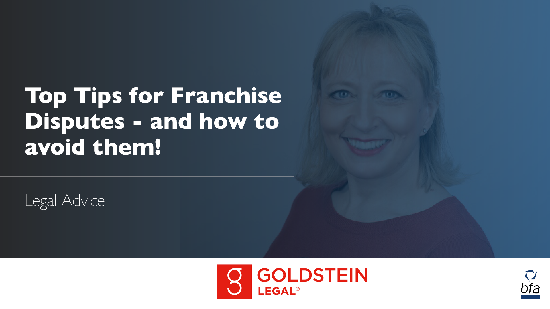 Top Tips for Franchise Disputes – and how to avoid them!