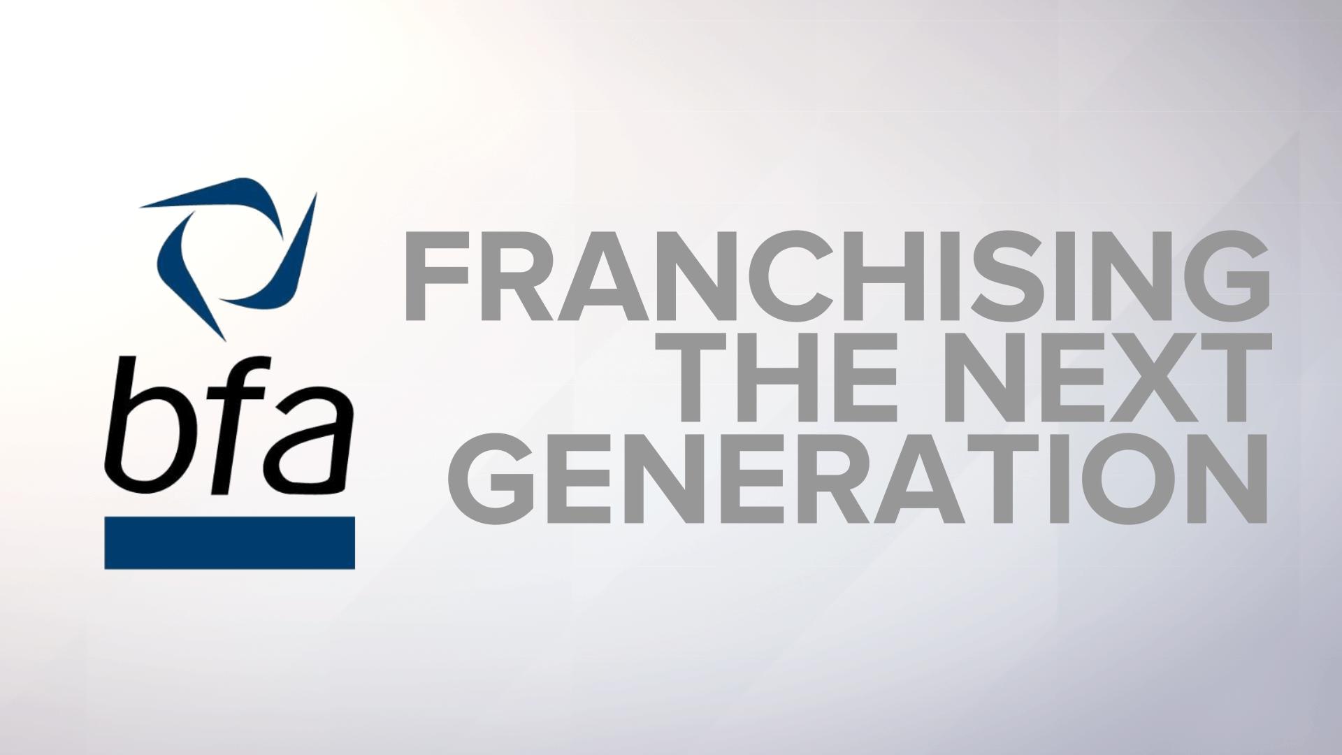 Franchising the Next Generation: An ITN Productions Collaboration