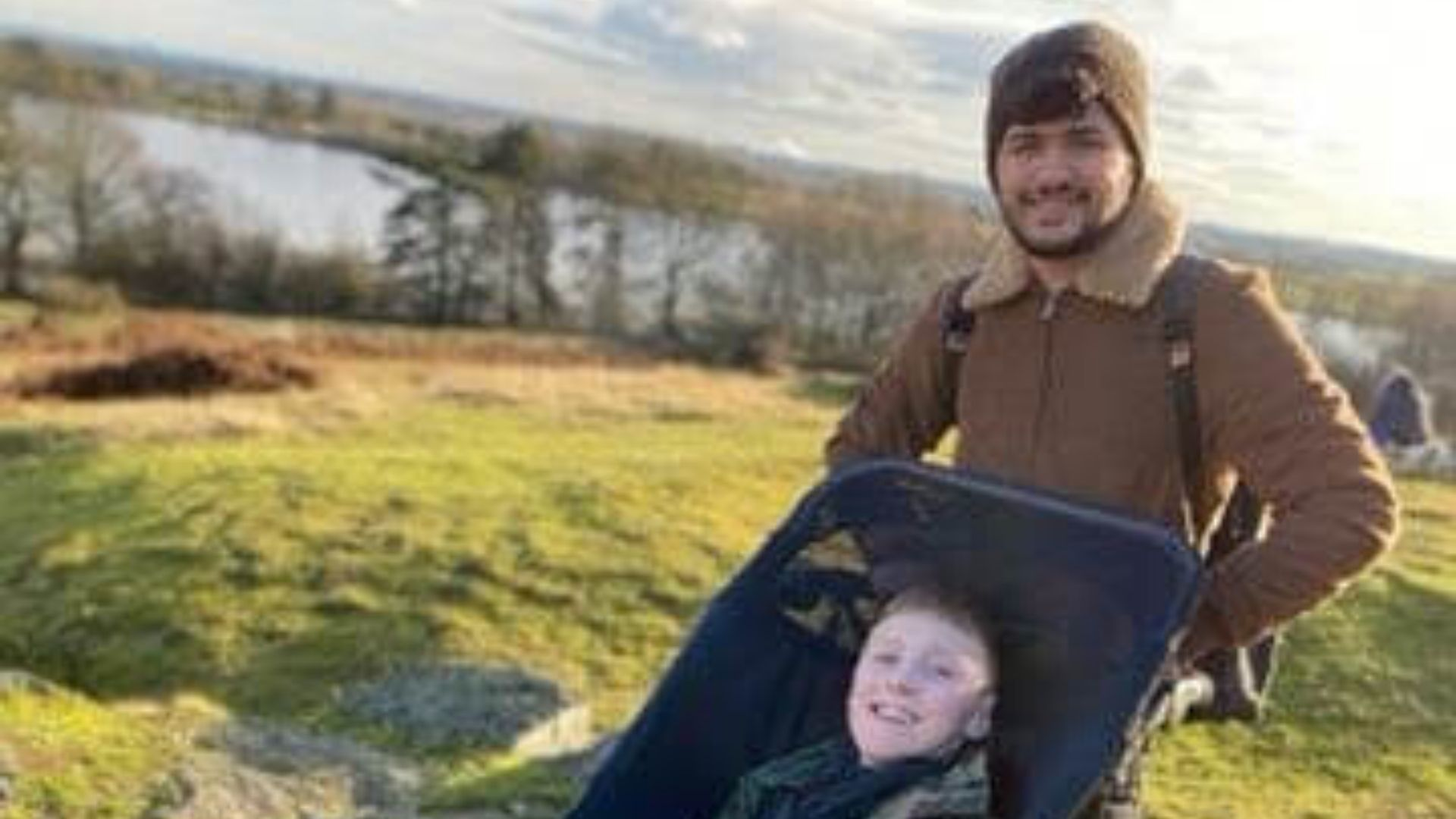 InXpress Gives Back: Harry gets the wheelchair of his dreams in time for Christmas