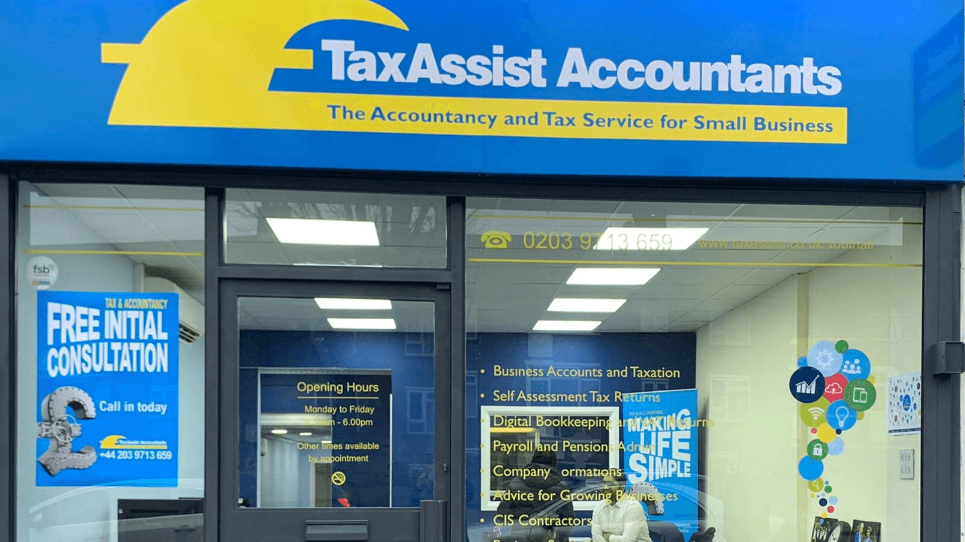 New TaxAssist Accountants shop opens in Southall