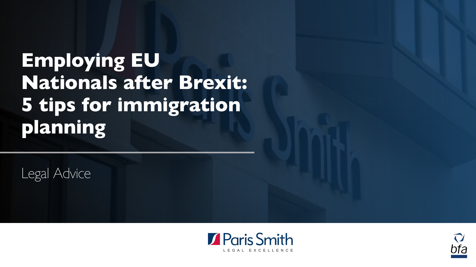 Employing EU Nationals after Brexit: 5 Tips for Immigration Planning in 2020