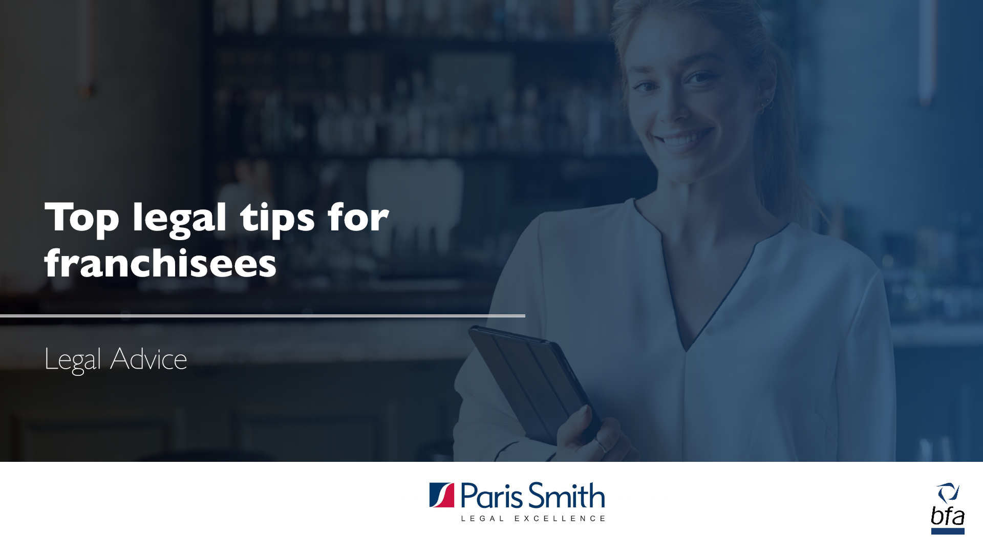 Top legal tips for franchisees