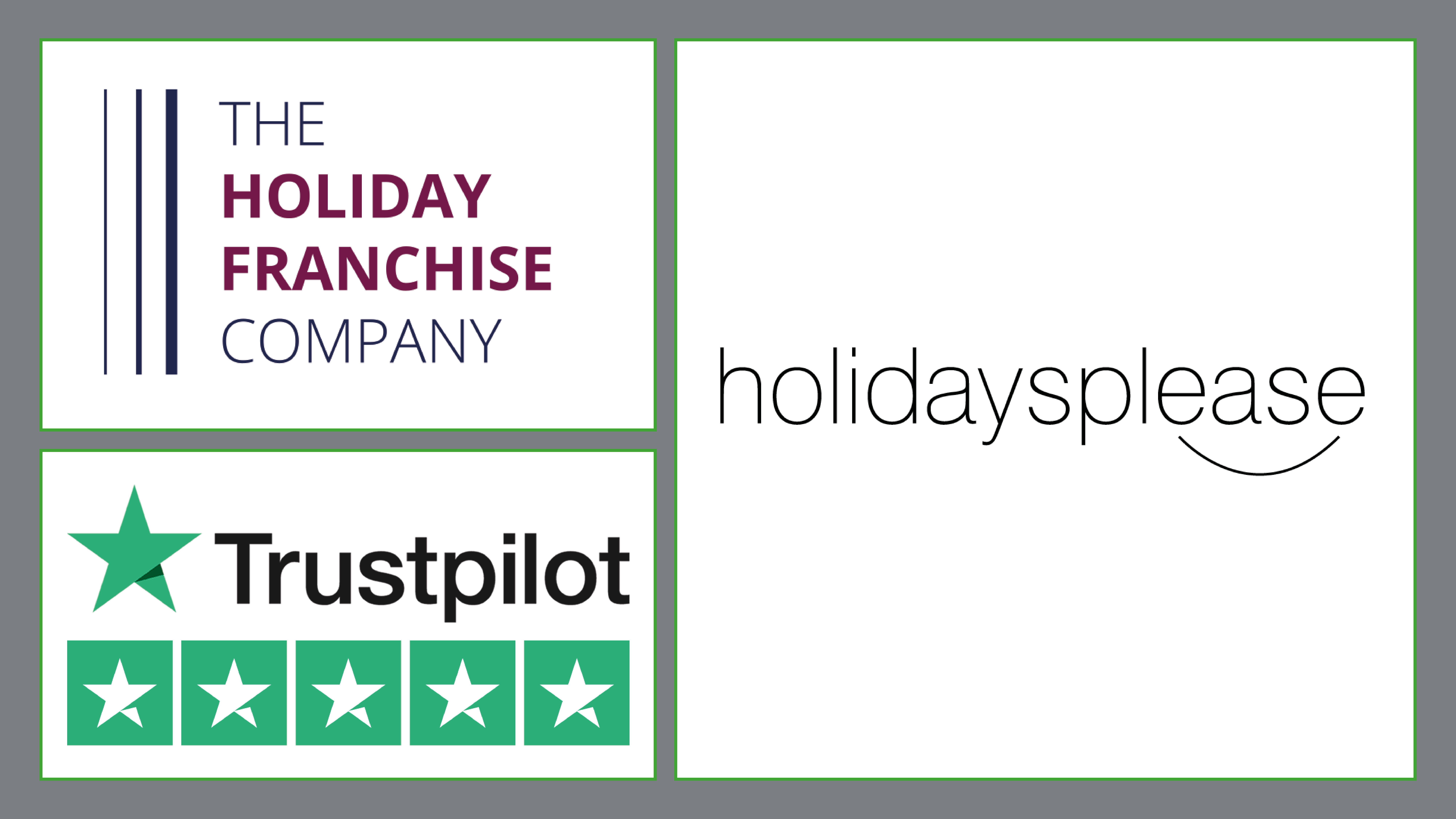 THE HOLIDAY FRANCHISE COMPANY – BACKED BY THE HIGHEST RATED TRAVEL AGENT