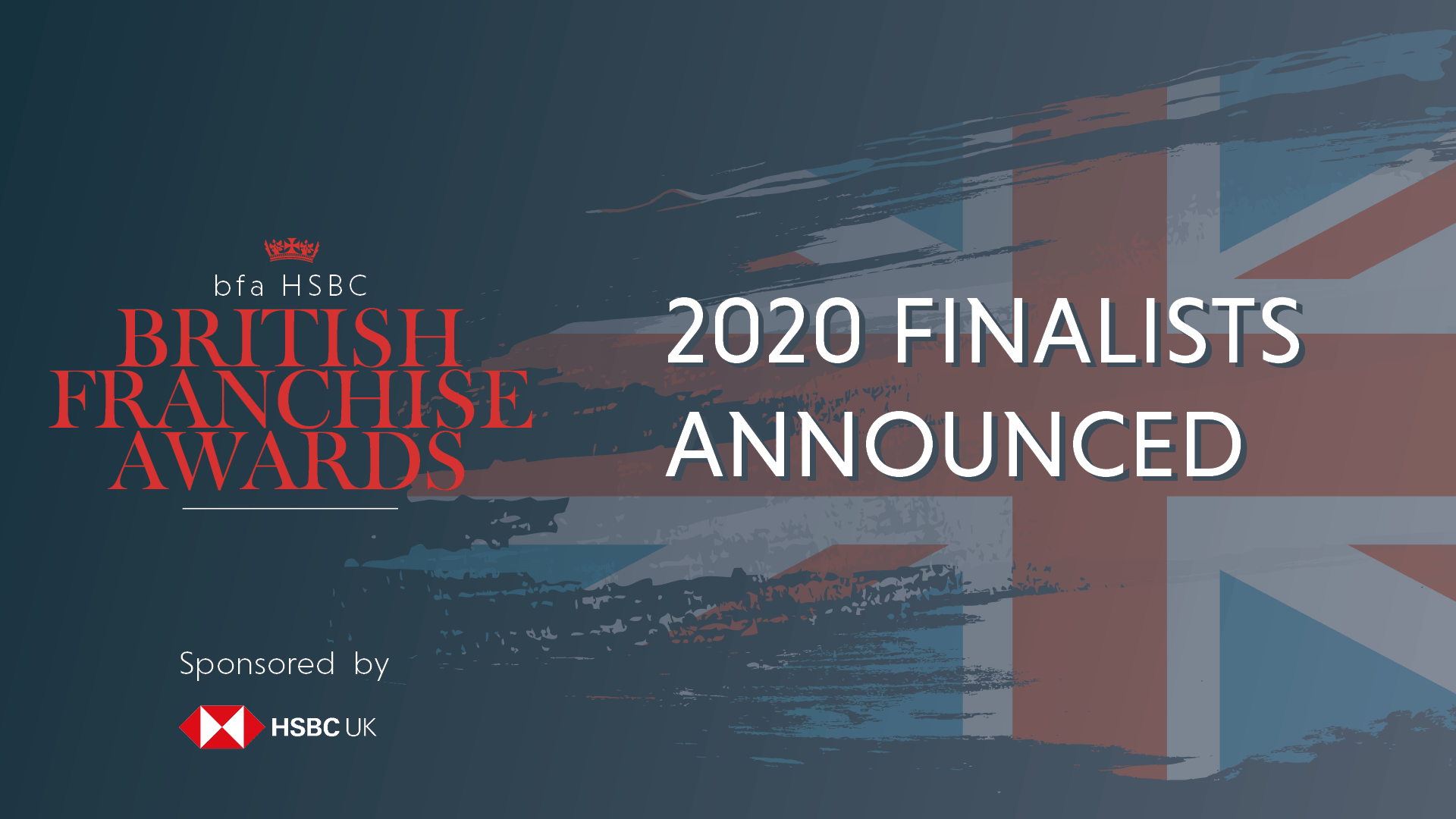 Finalists for bfa HSBC British Franchise Awards 2020 have been announced