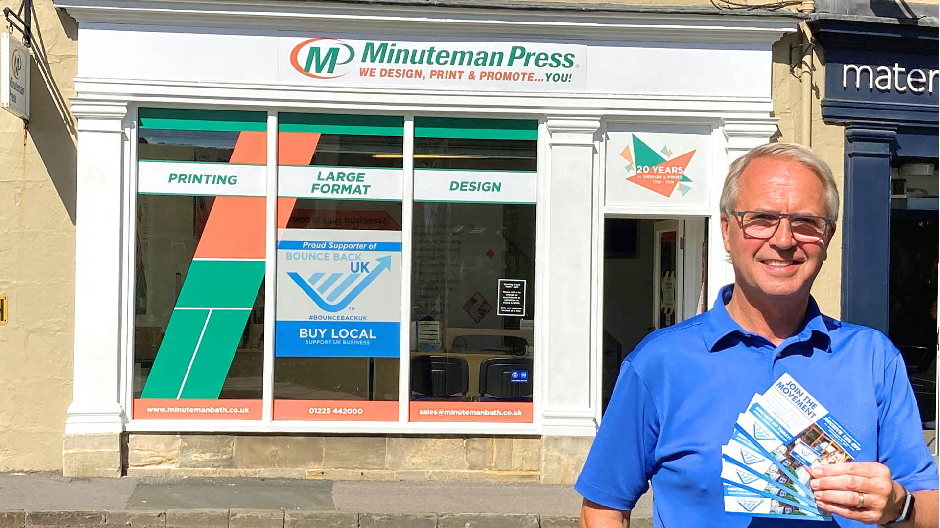 Minuteman Press Franchise Helps Local UK Businesses Bounce Back from COVID-19