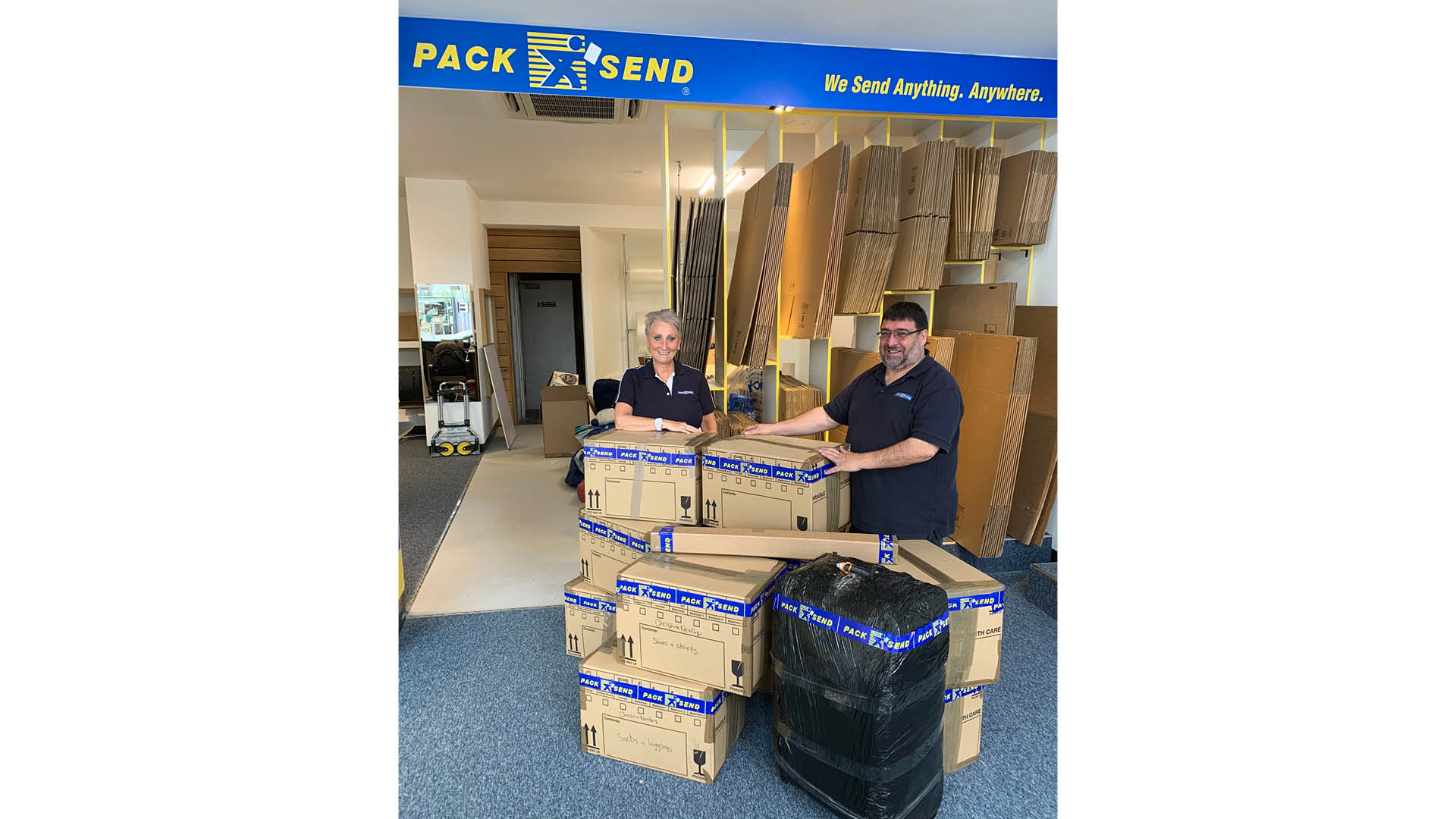PACK & SEND welcome two new franchisees post-lockdown