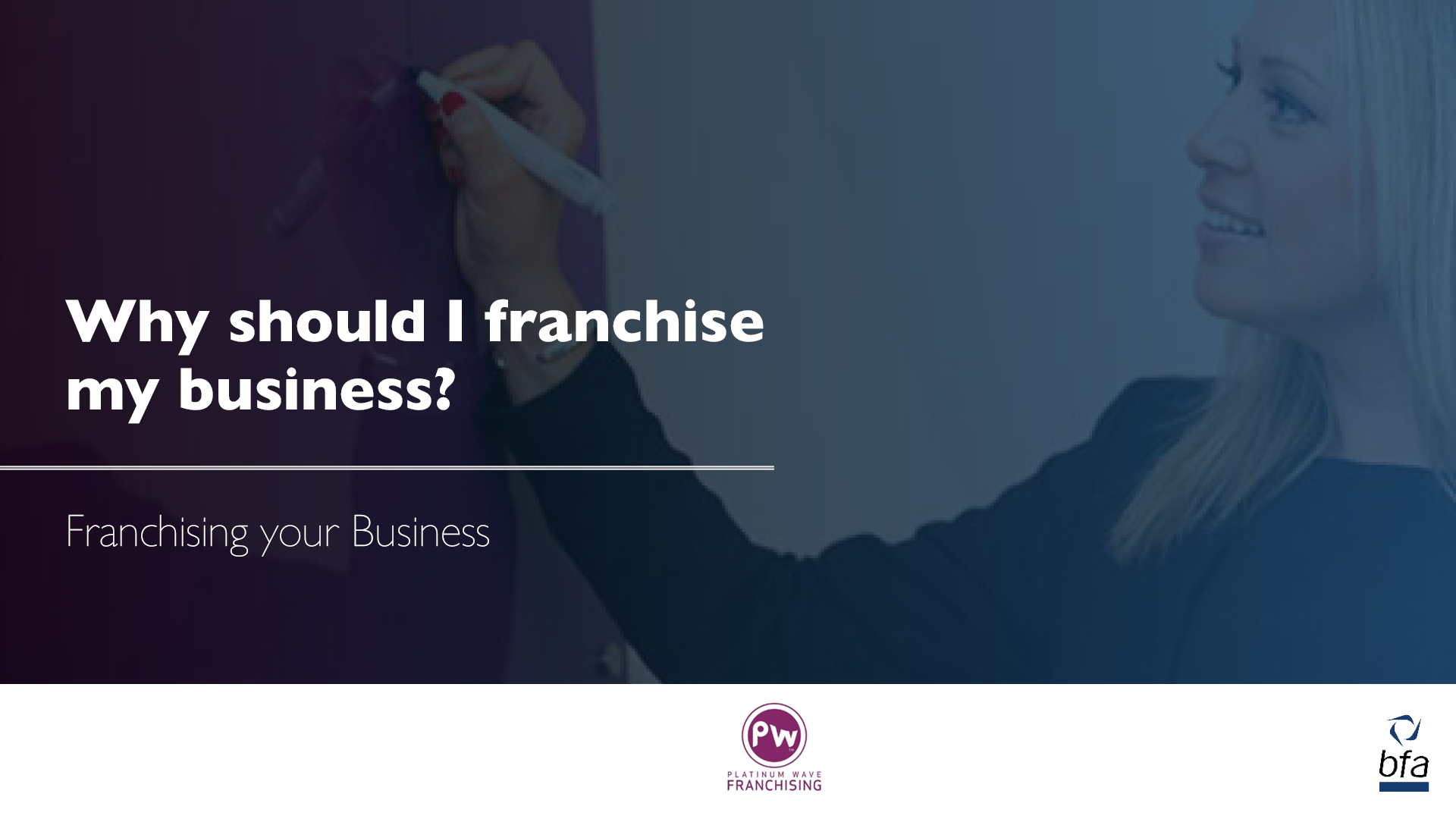 Why should I franchise my business?