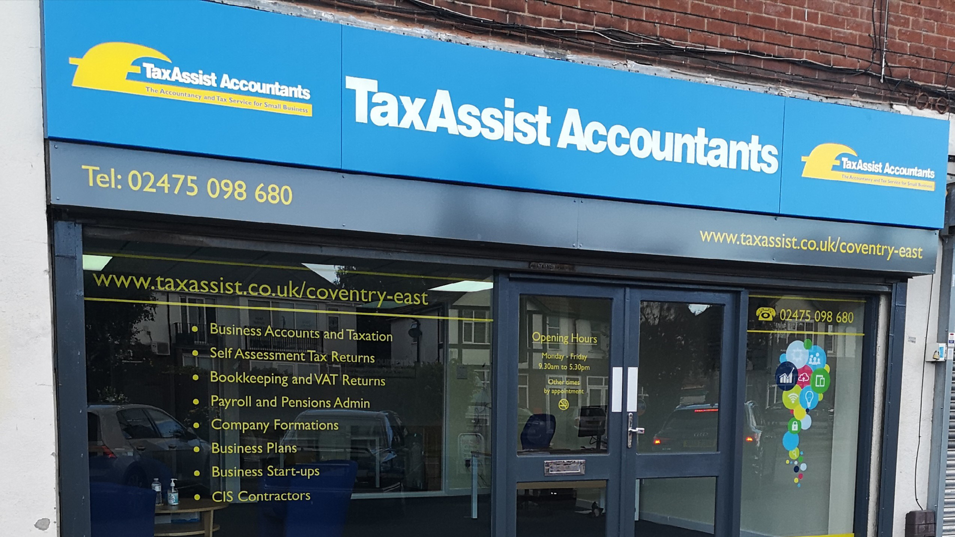 New TaxAssist Accountants shop launches in Coventry