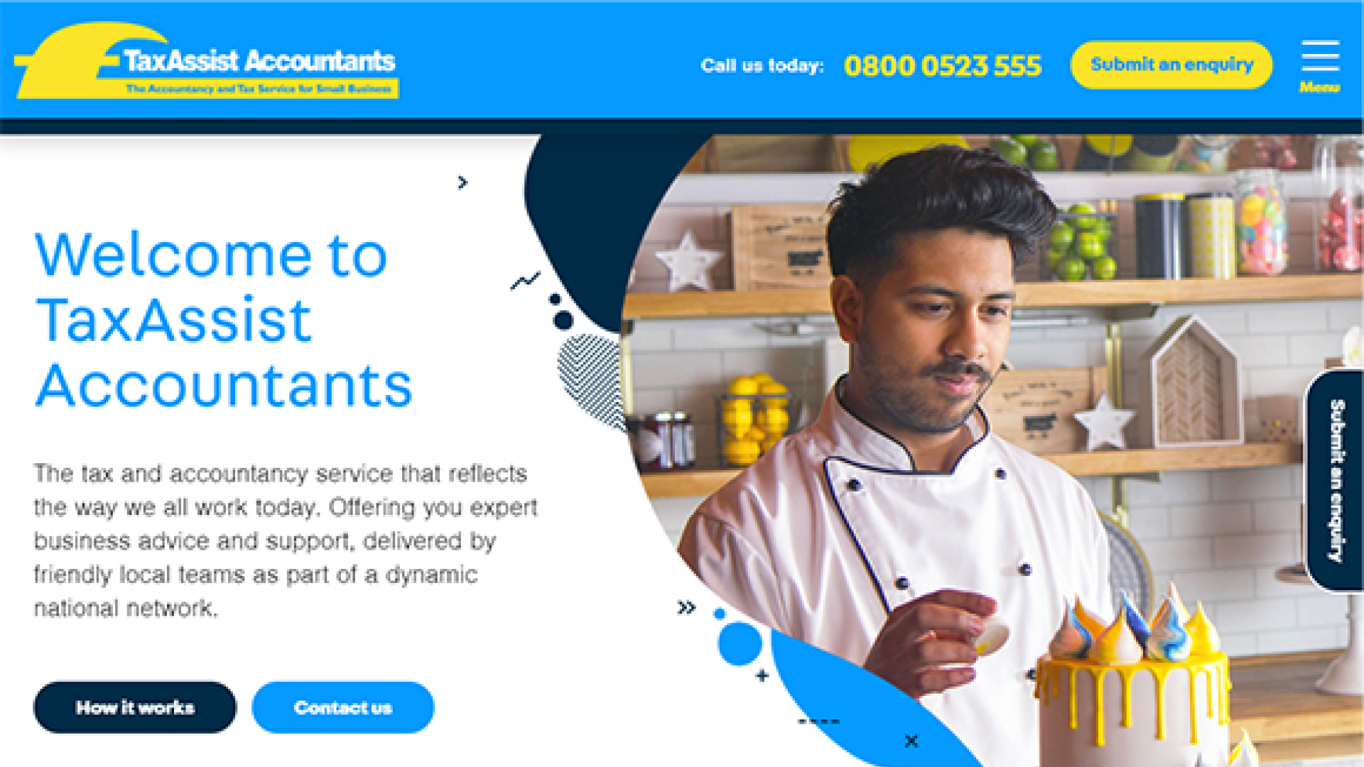 TaxAssist Accountants unveils new look websites and enhanced brand designs