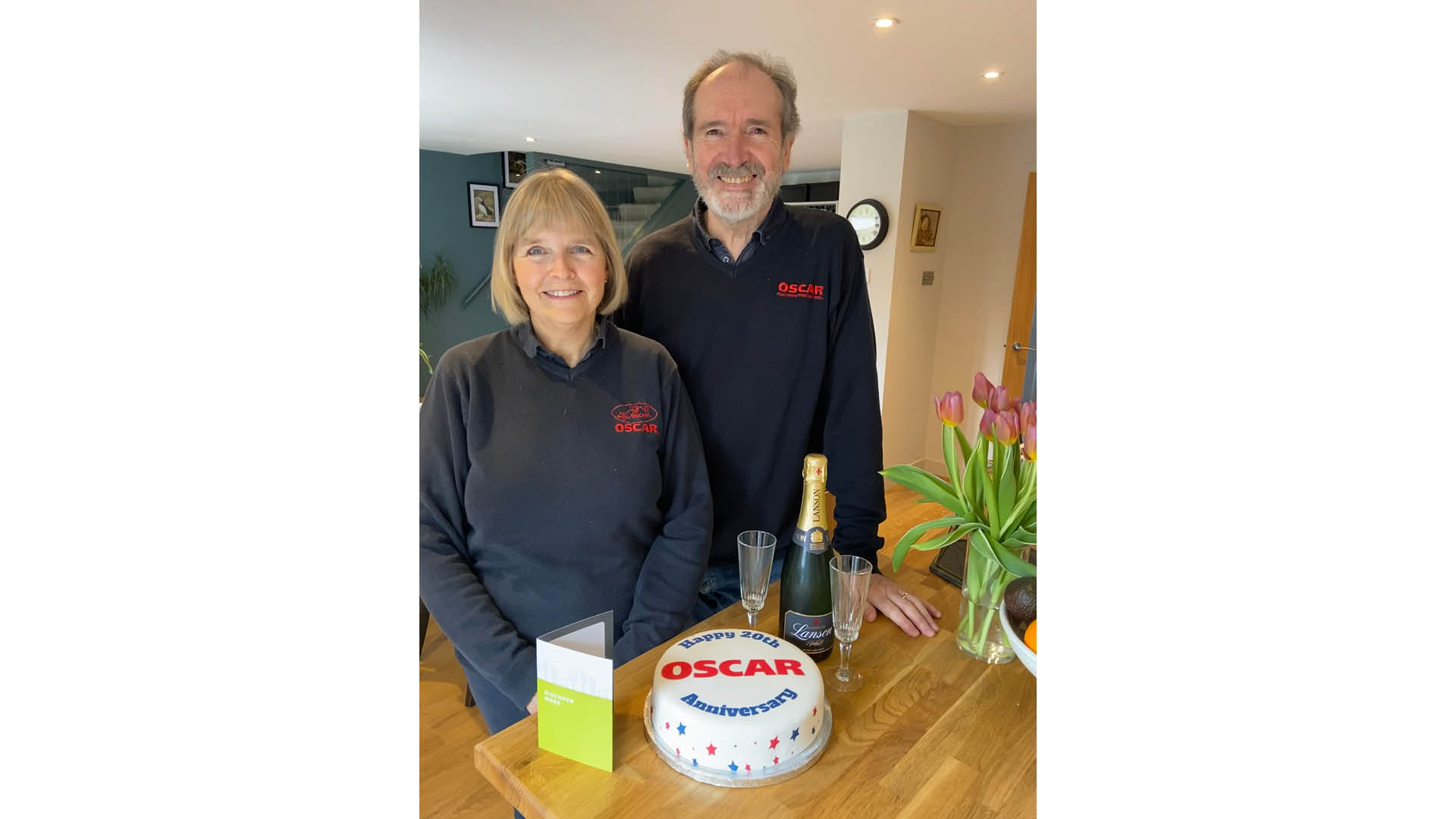 Lesley and Barry Lavin Celebrate 20 years at OSCAR Pet Foods