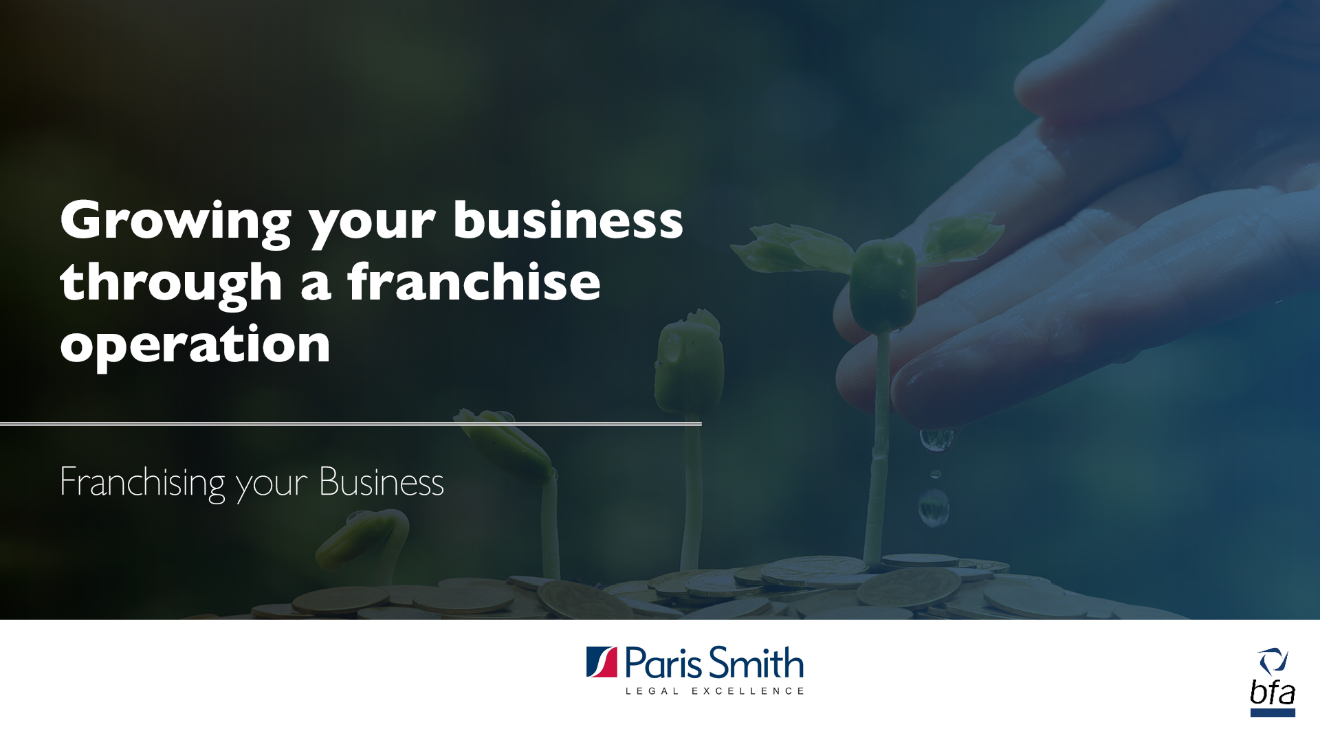 Growing your business through a franchise operation