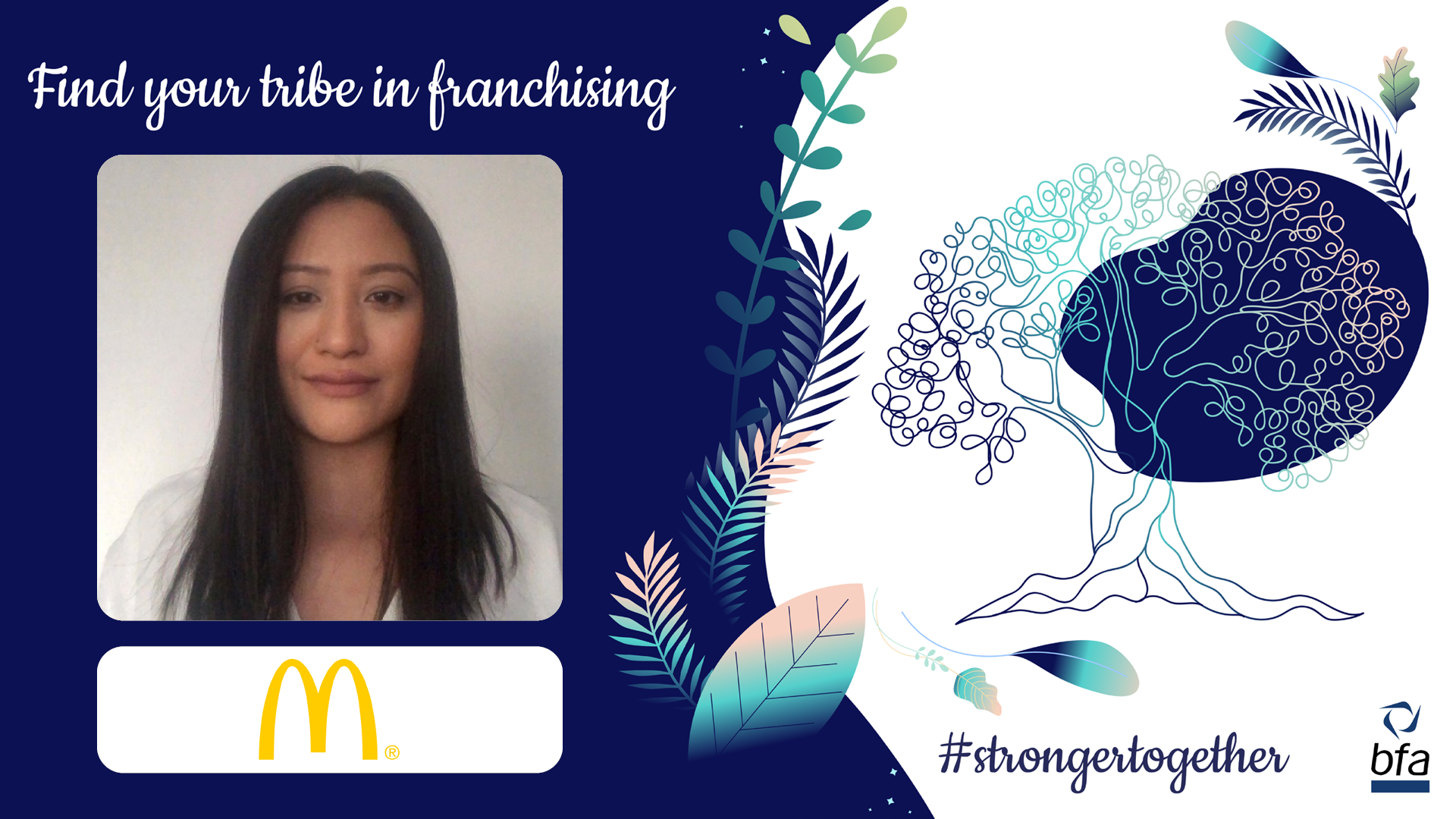 The bfa meets Rajeena Gurung, Franchisee Consultant at McDonald's