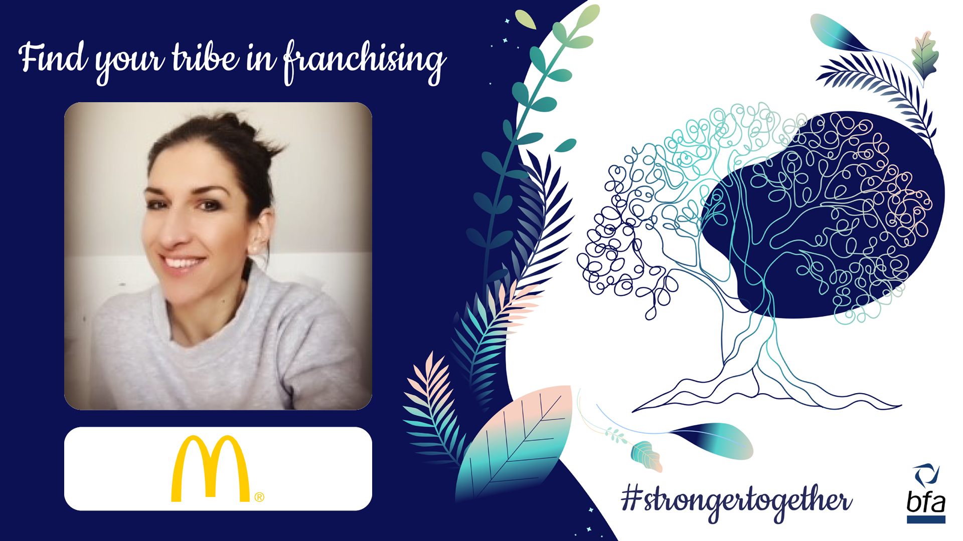 The bfa meets Sarah Lloyd, McDonald's Franchisee