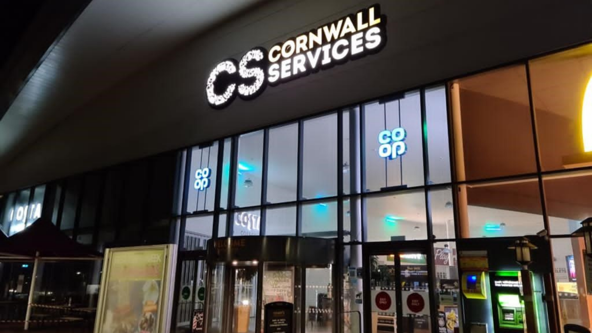 Co-op franchise expands with first service station located in the heart of Cornwall