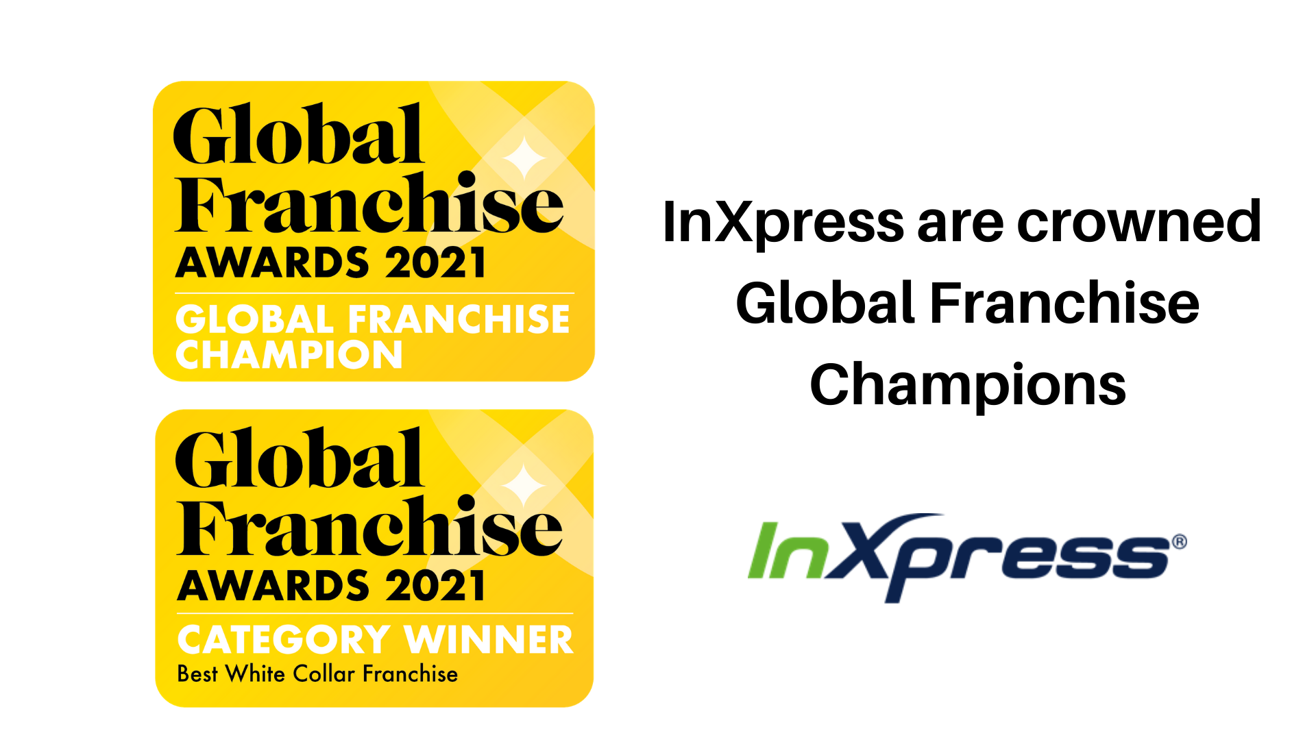 InXpress are crowned Global Franchise Champions