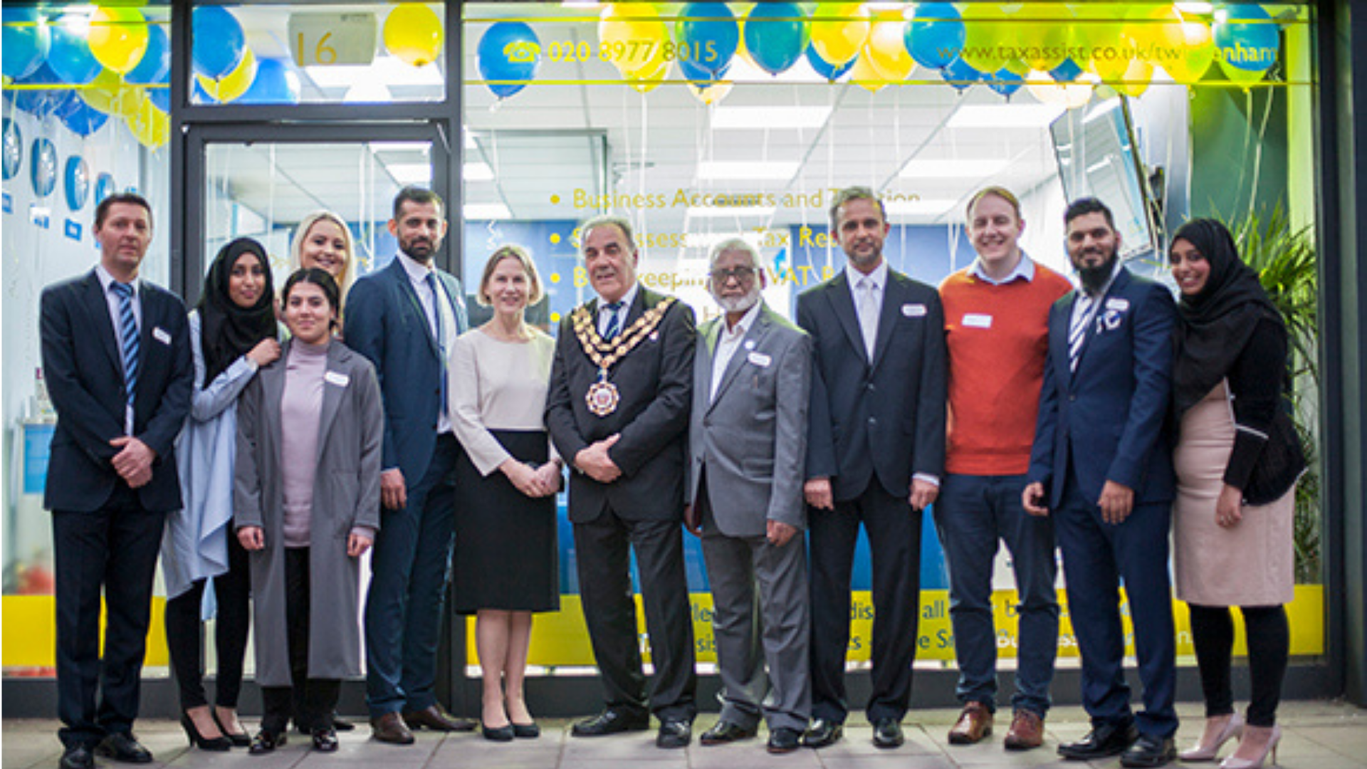 Family celebrates new shop opening and 20 years of business success with TaxAssist Accountants