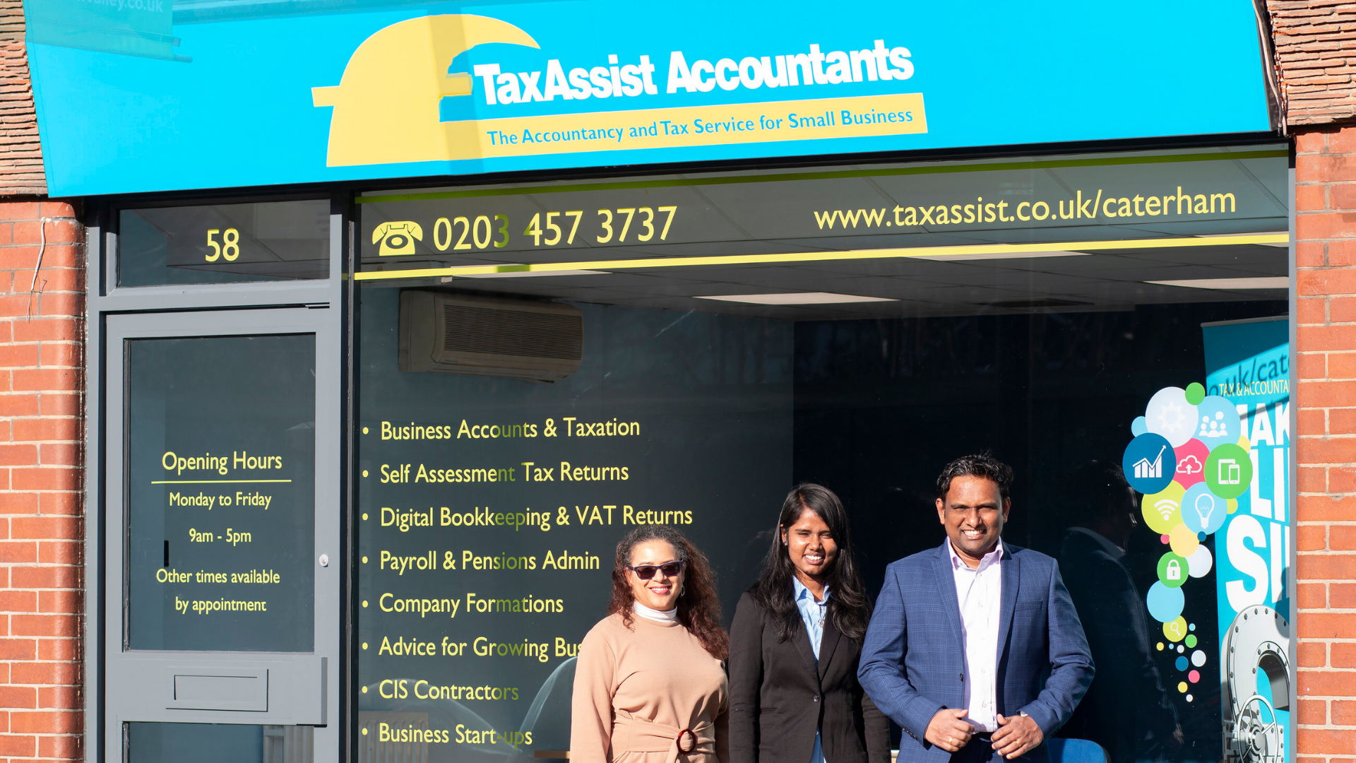 New TaxAssist Accountants shop opens in Caterham