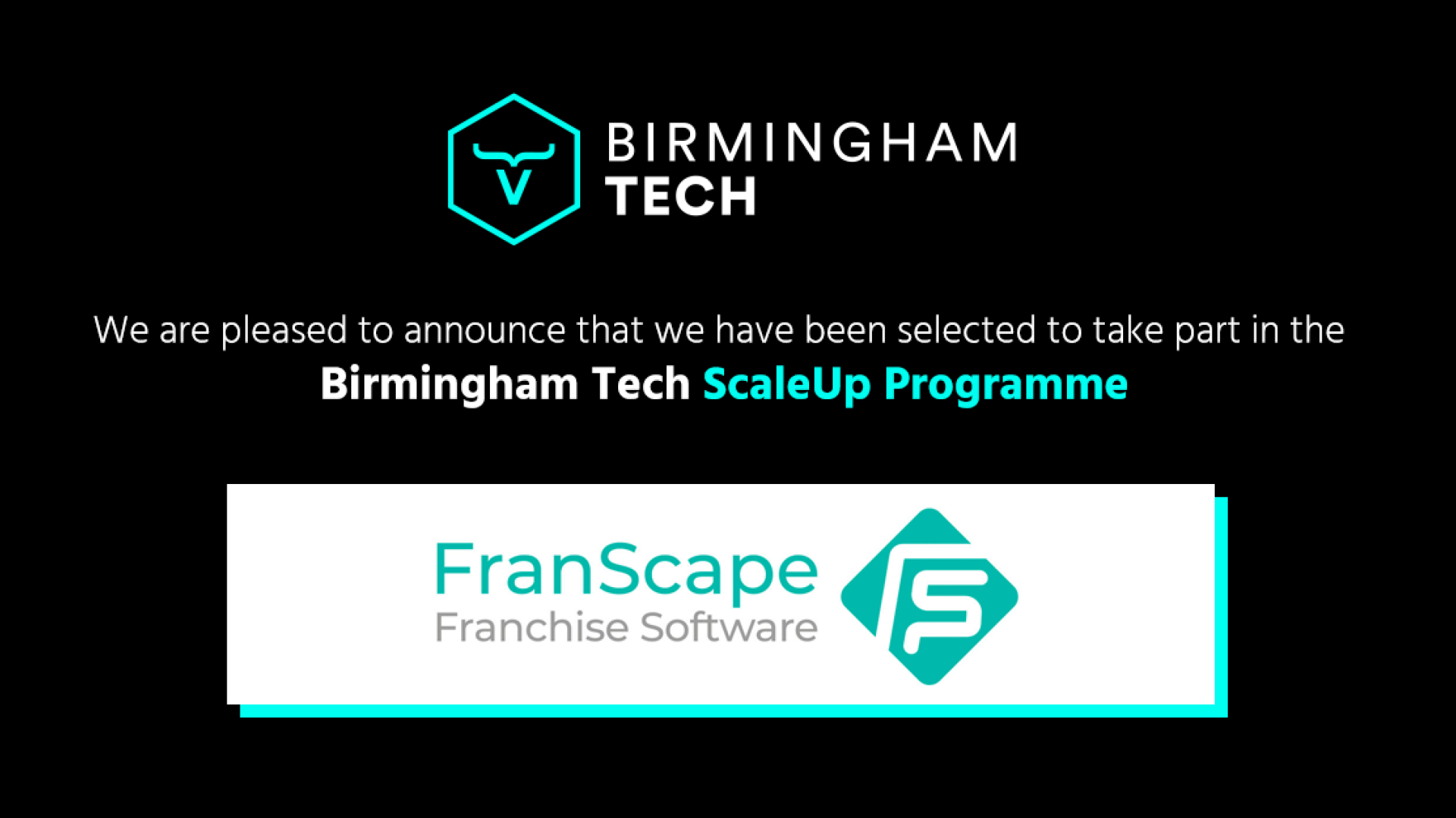 Birmingham Tech announces the first cohort on their ScaleUp Programme with 12 innovative and exciting businesses selected