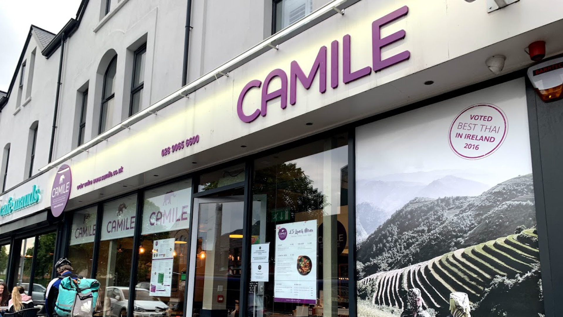 Camile Multi-Unit franchisee opens 8th outlet in Bangor, N. Ireland
