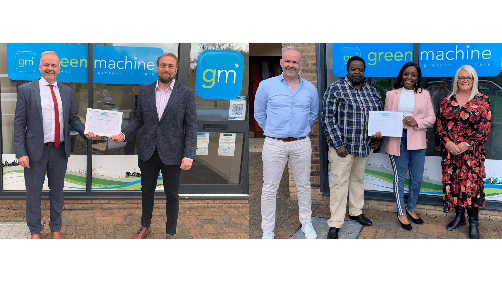 Eco-cleaning contractors Green Machine are branching out to Northampton and Sheffield after signing 2 new Franchisees in April