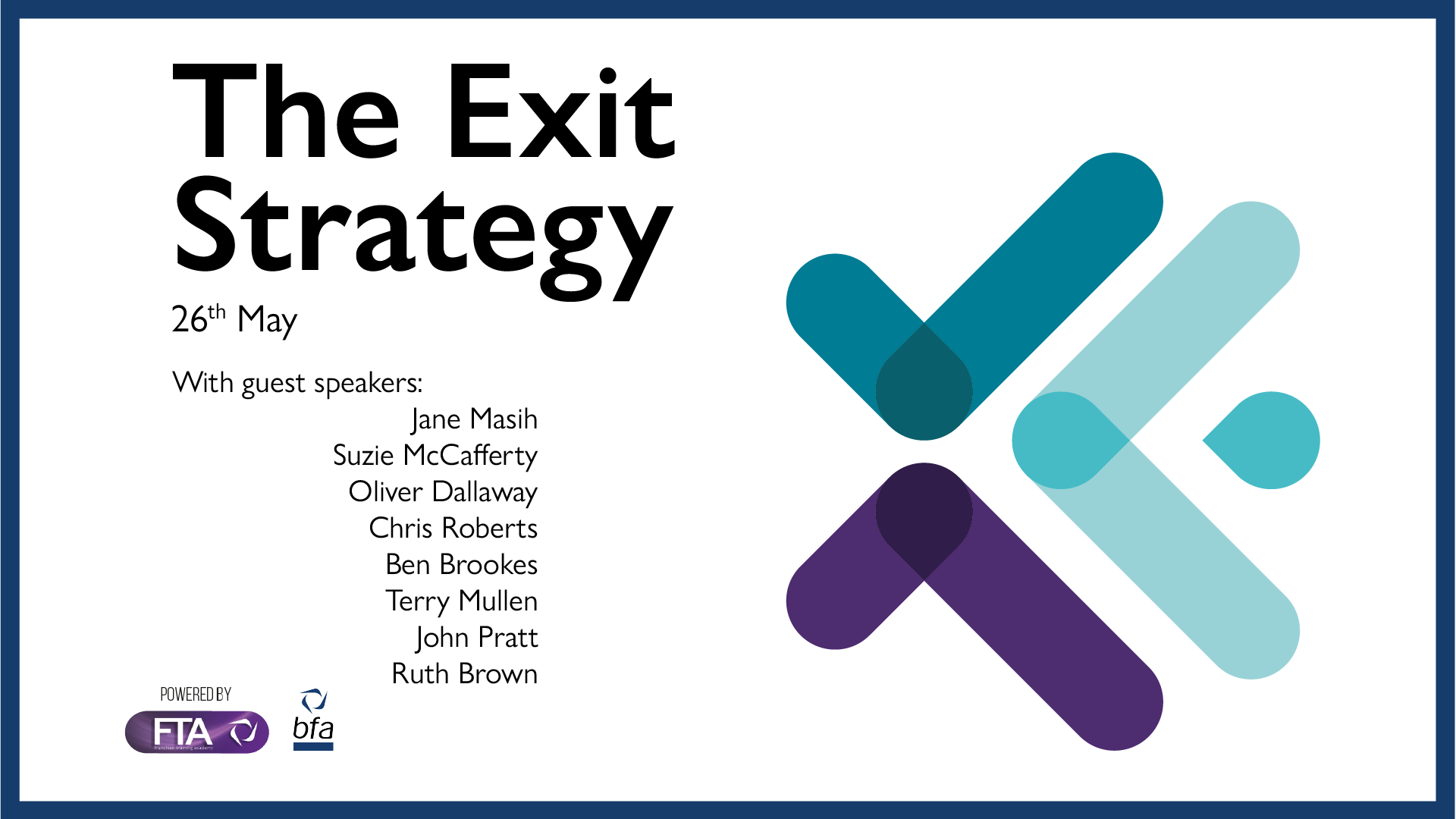 Moving On – 'The Exit Strategy'