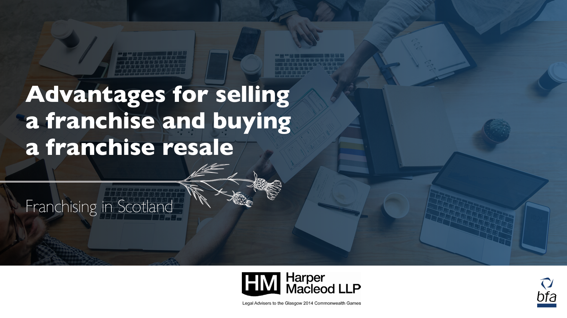 Advantages for selling a franchise and buying a franchise resale