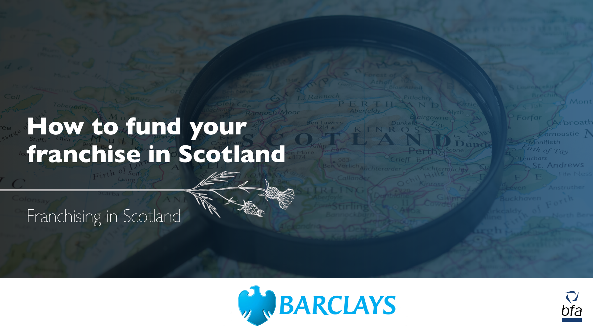 How to fund your franchise in Scotland