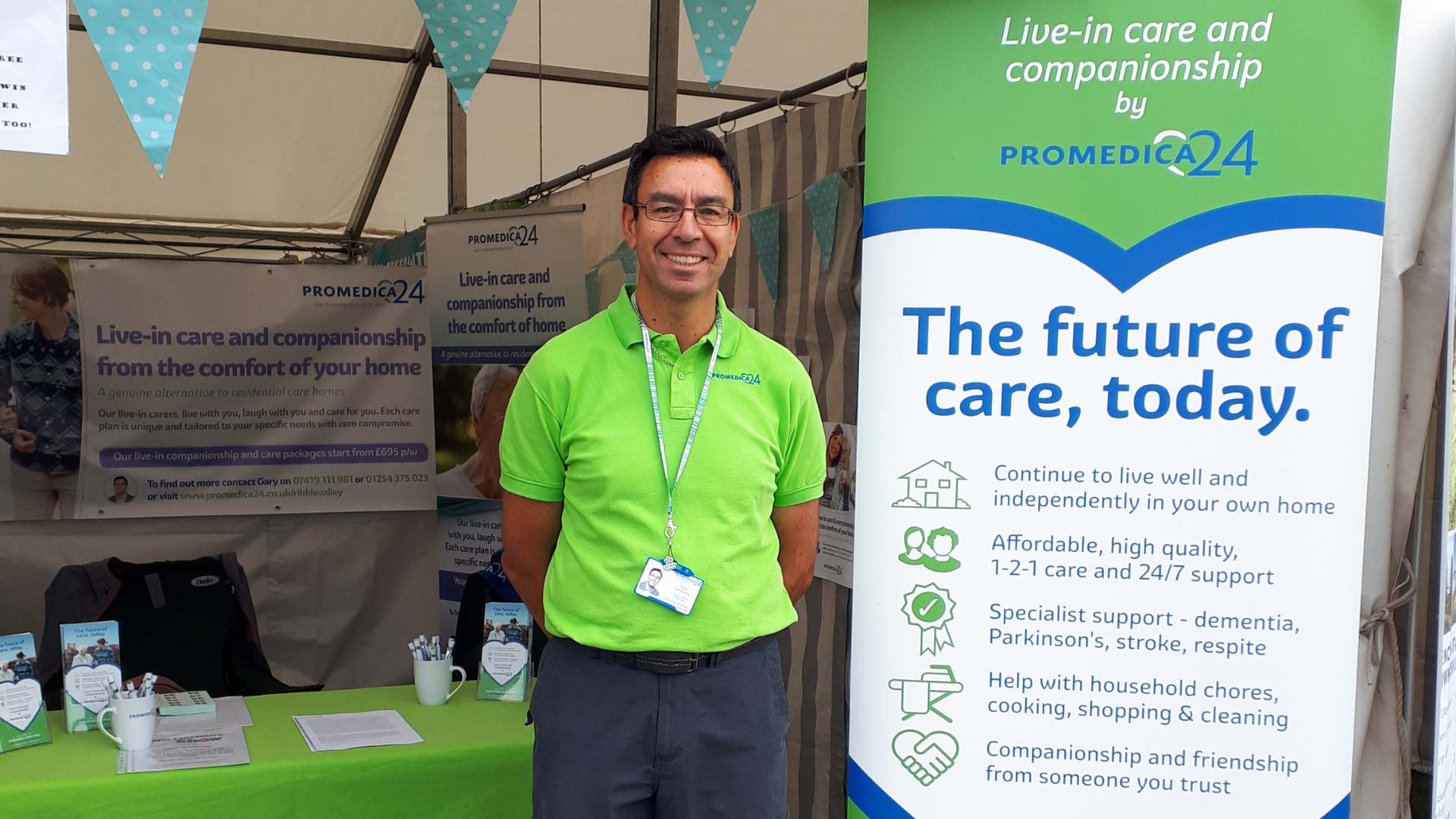 Live-in Care Provider celebrates 5th anniversary of supporting people across North Yorkshire community