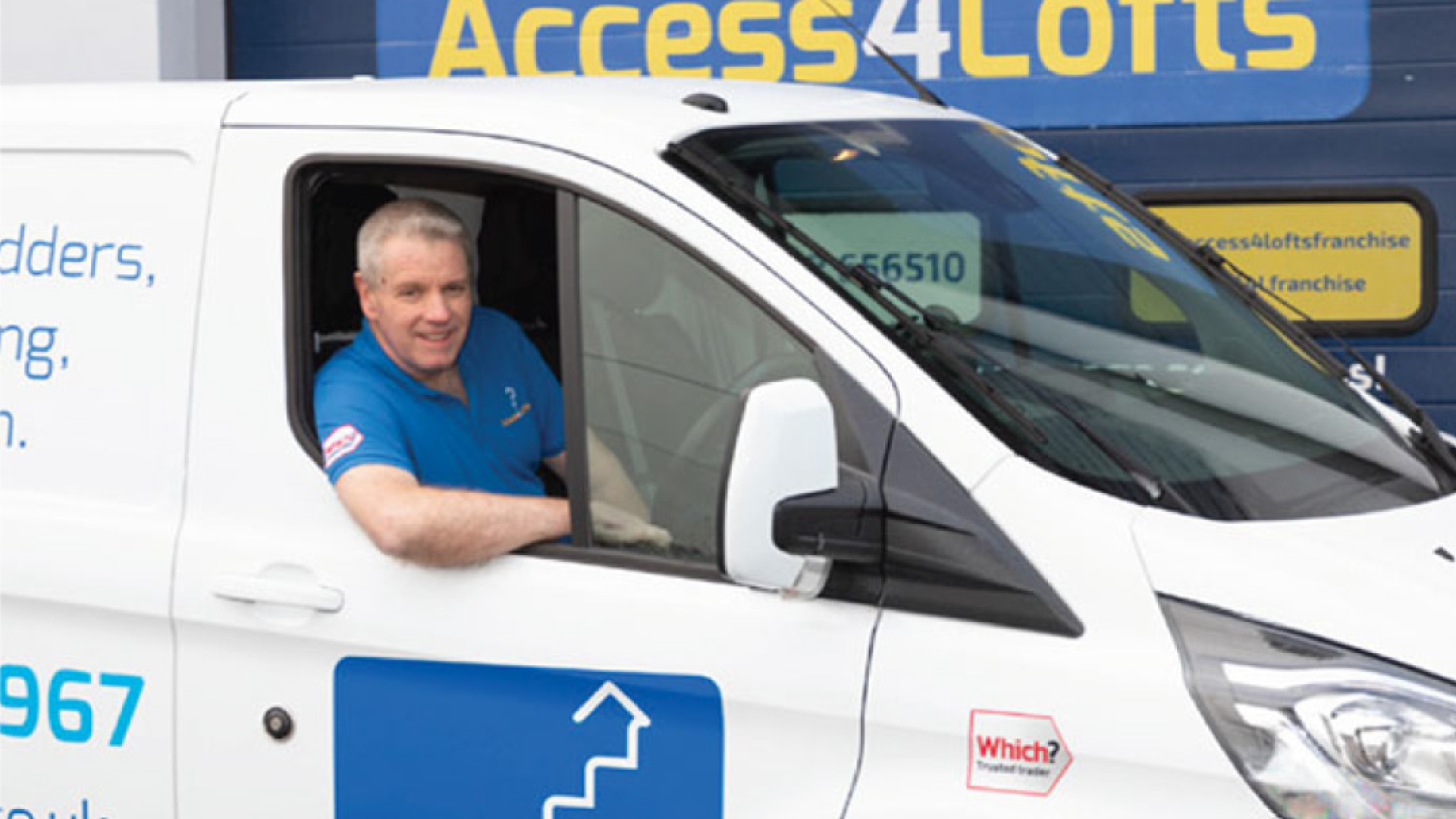 Hear from Billy Makepeace and his journey in to franchising with Access4Lofts