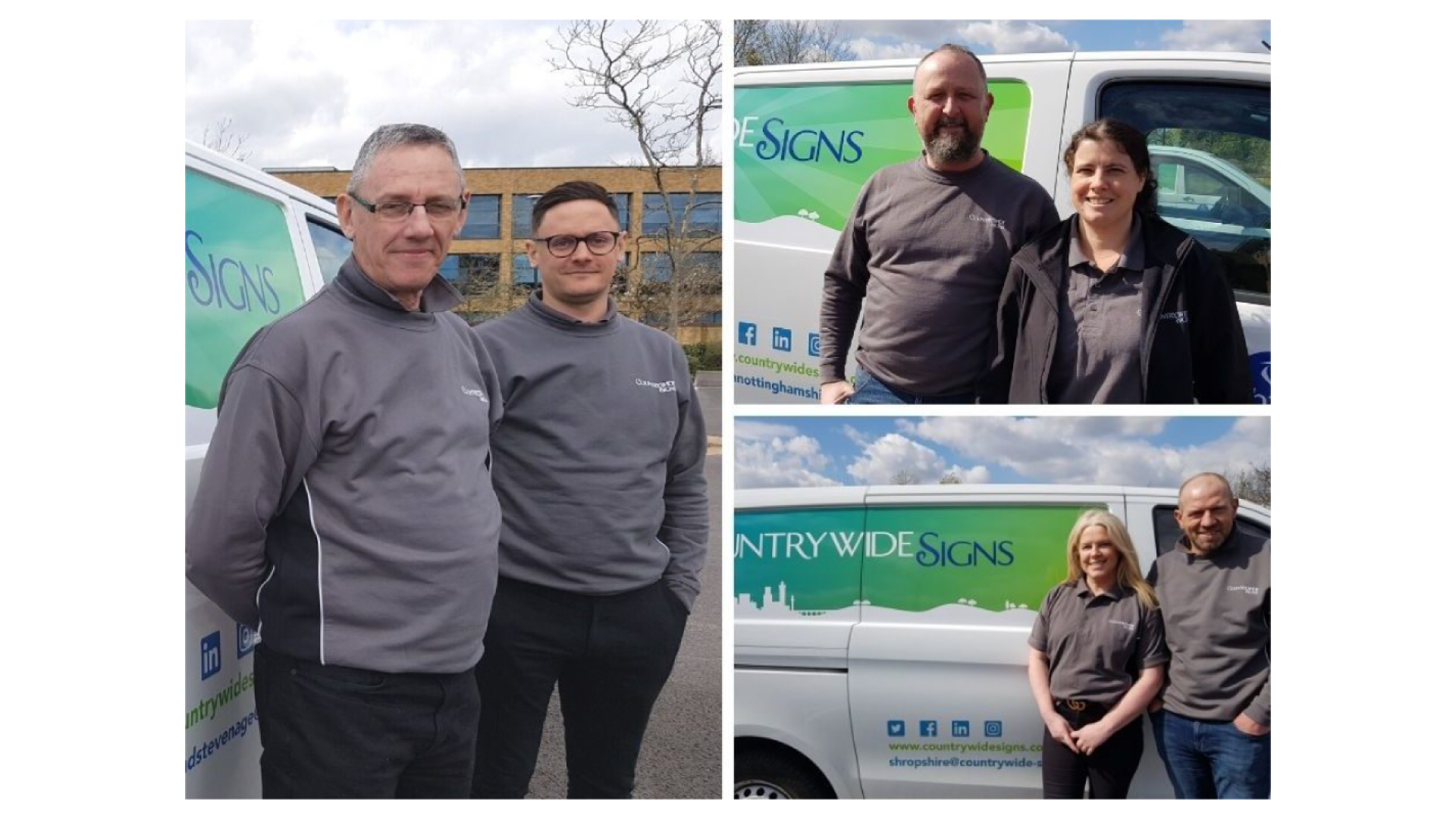 Countrywide Signs welcomes new franchisees