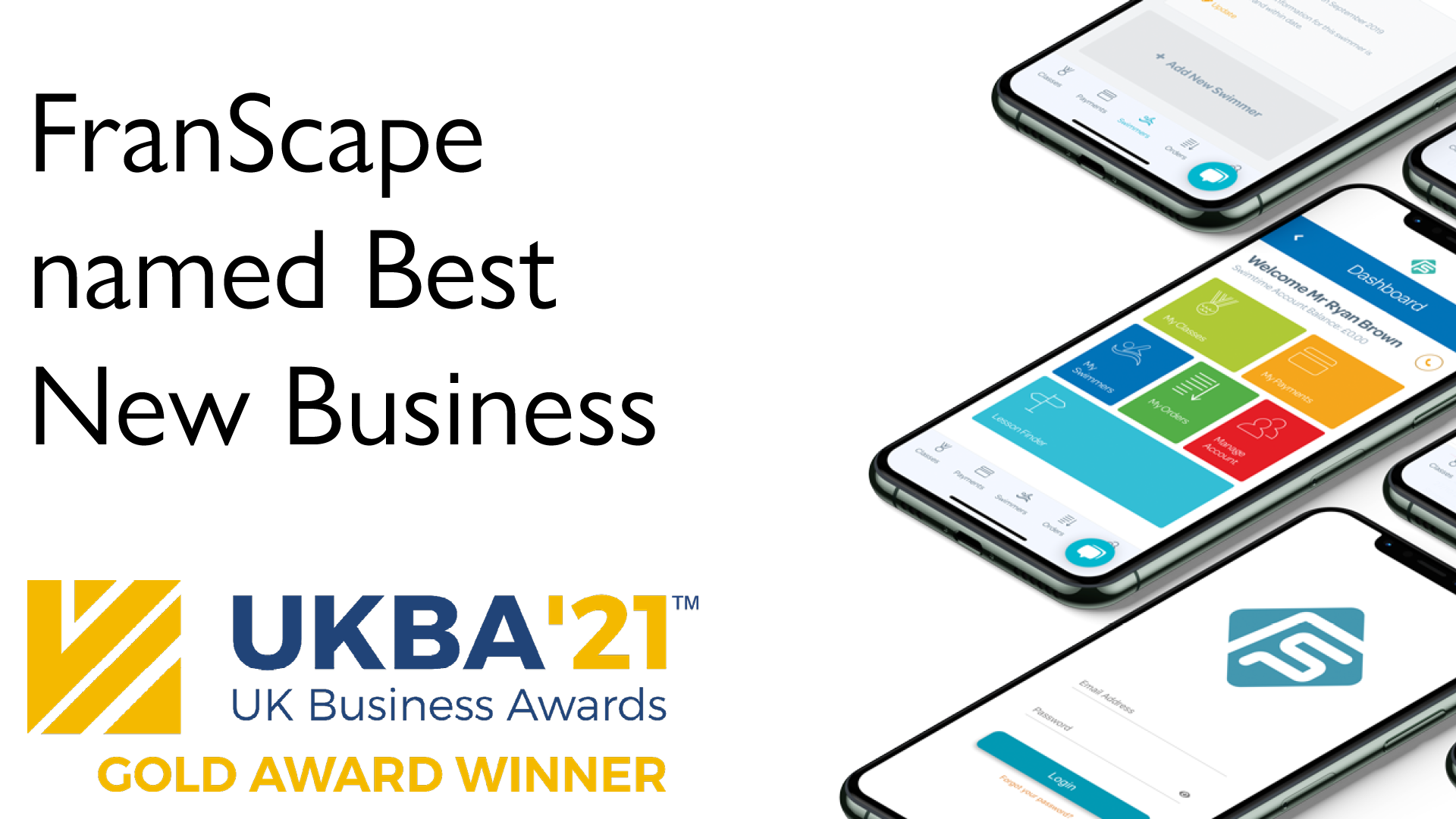 Technology company FranScape named Best New Business at Prestigious Business Awards