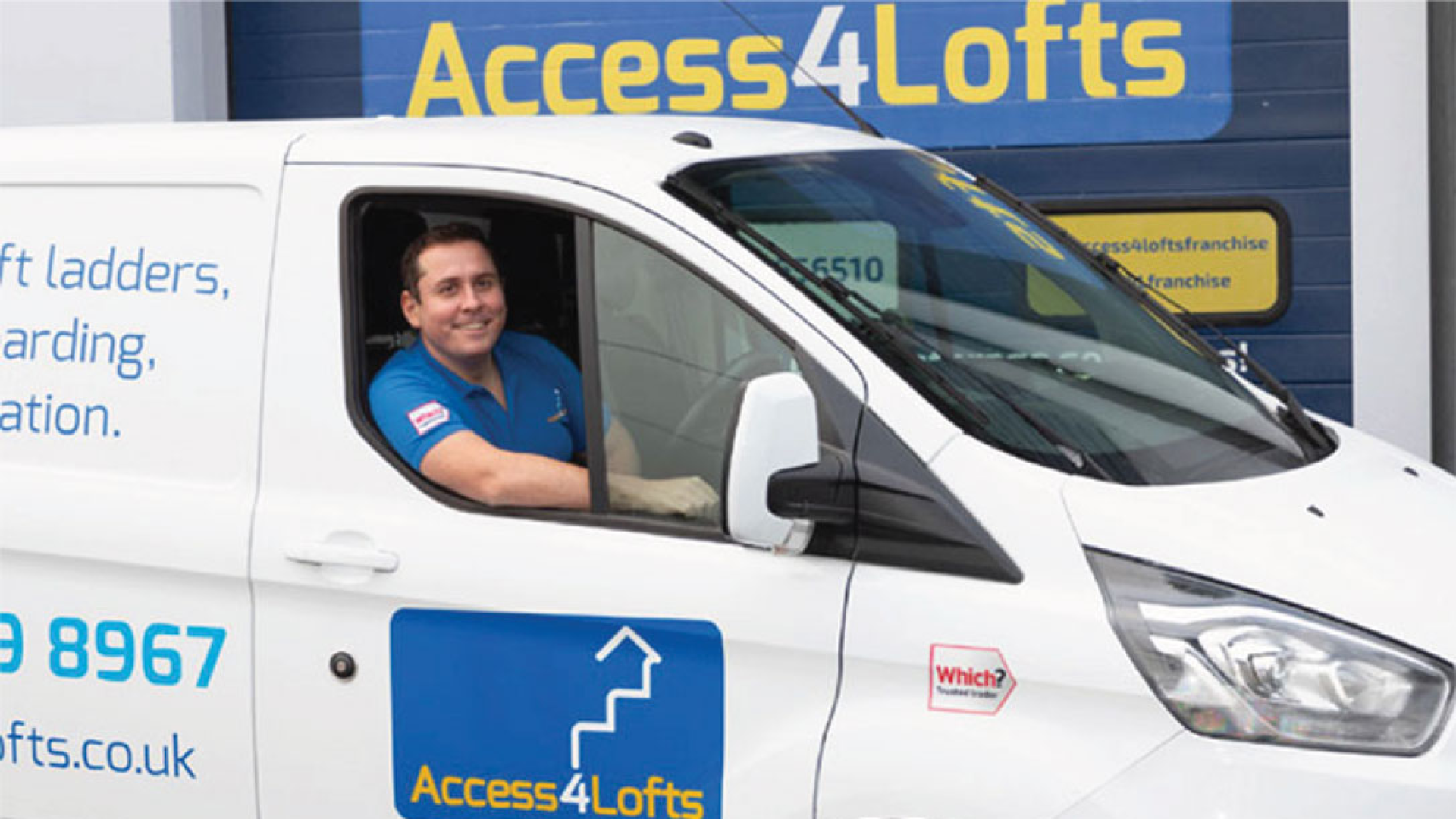 Hear from John Ioneasa about his journey into franchising with Access4Lofts
