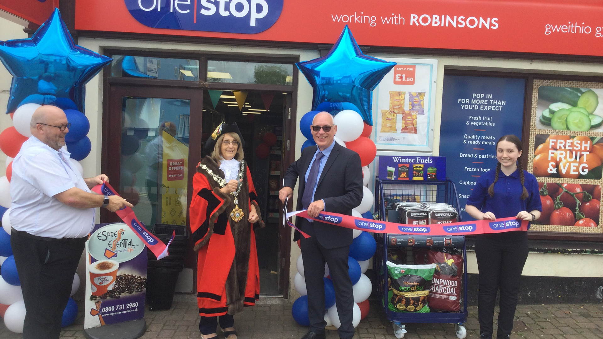 Retailer launches 3 One Stop stores in one day!