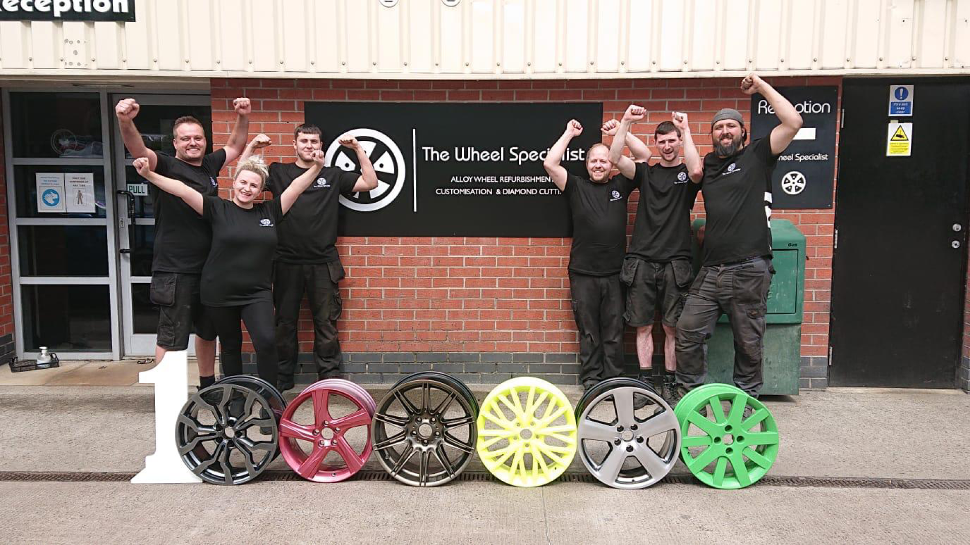 A one and six zeroes for The Wheel Specialist's heroes