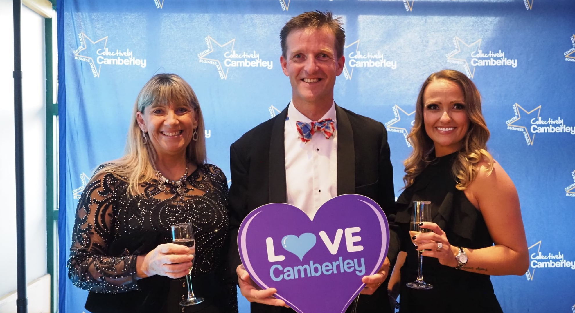 Massage therapy tops table at Camberley Town Business Awards