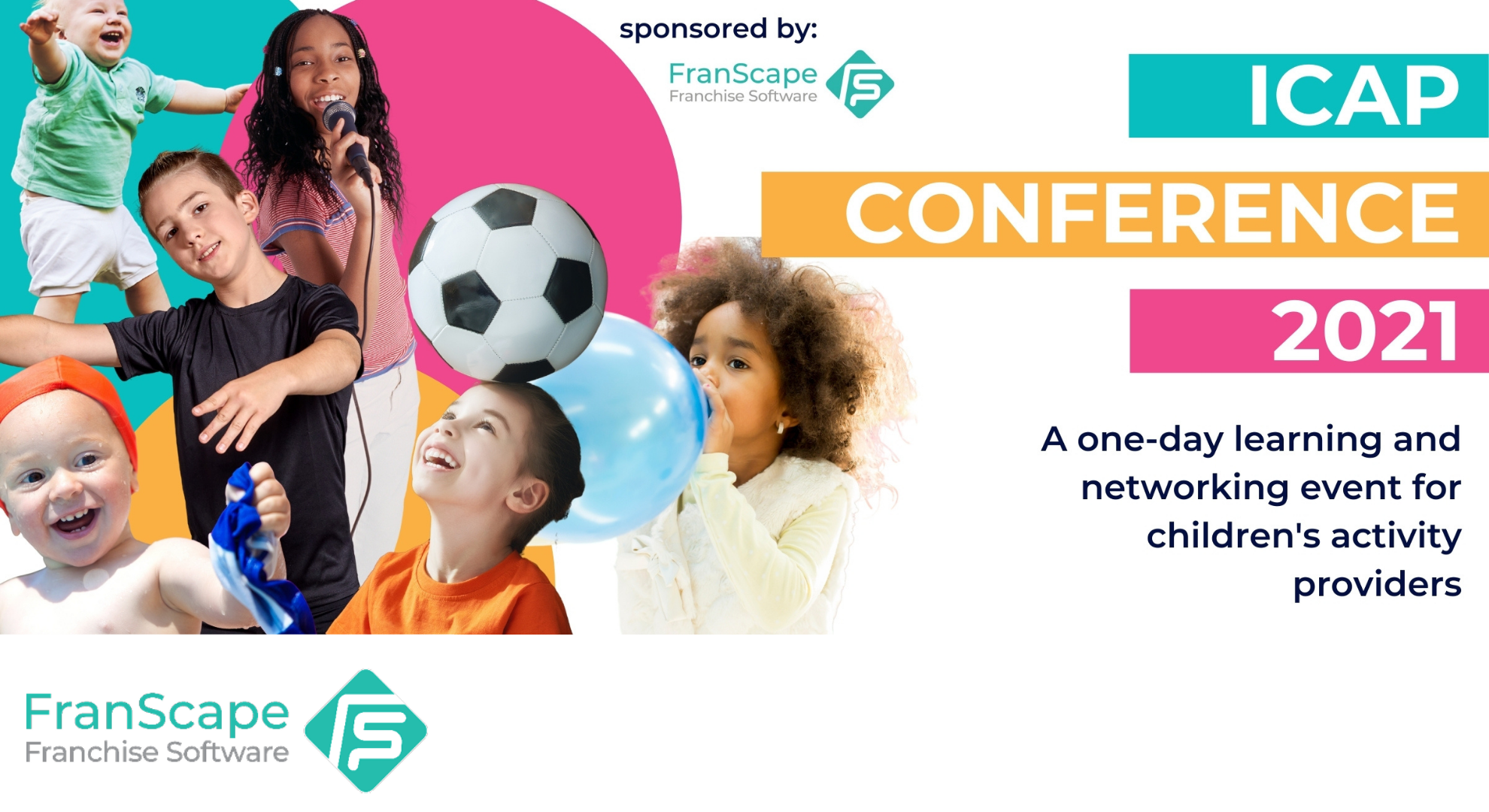 FranScape supporting the children's activity sector with fully subsidised tickets to the ICAP Conference