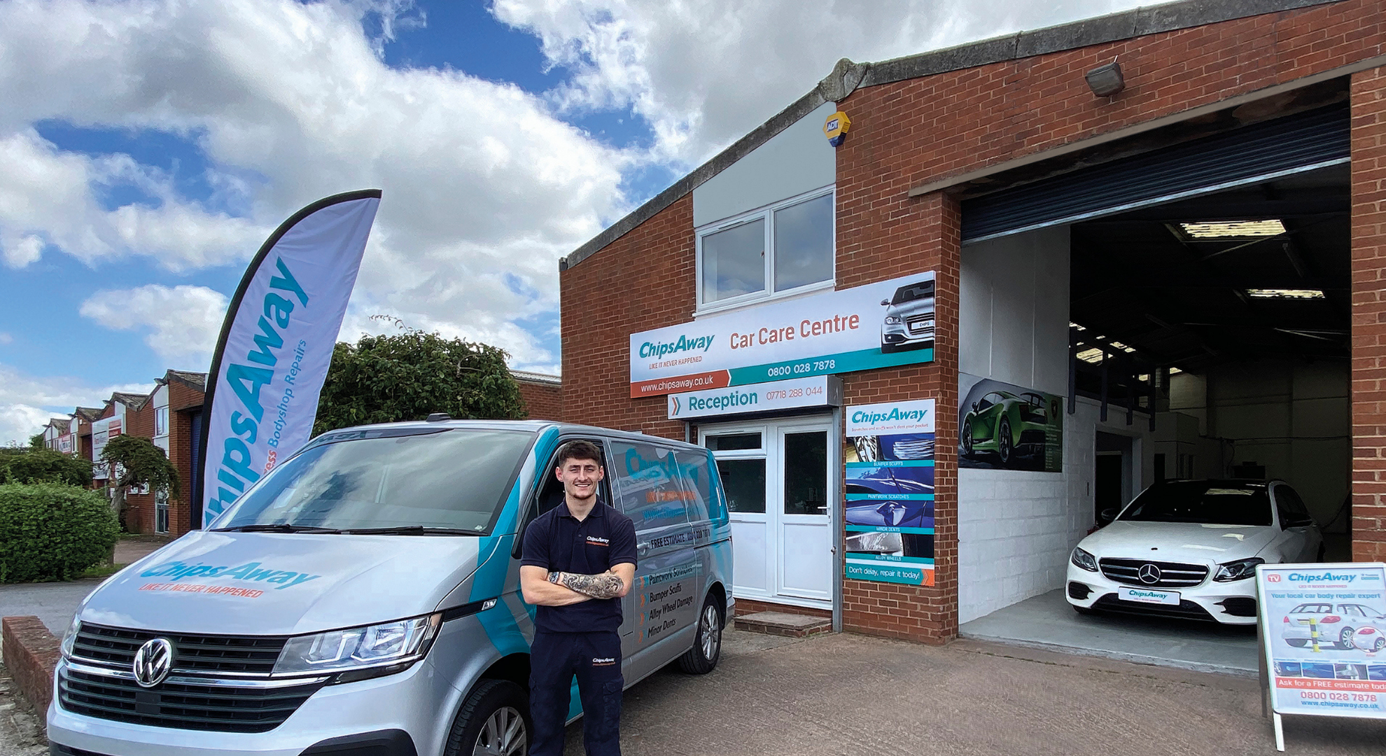 ChipsAway's Youngest Franchisee named as Bodyshop Magazine's 30 Under 30 Rising Stars Winner